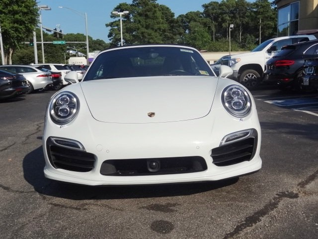Certified Pre-Owned 2015 Porsche 911 Turbo S